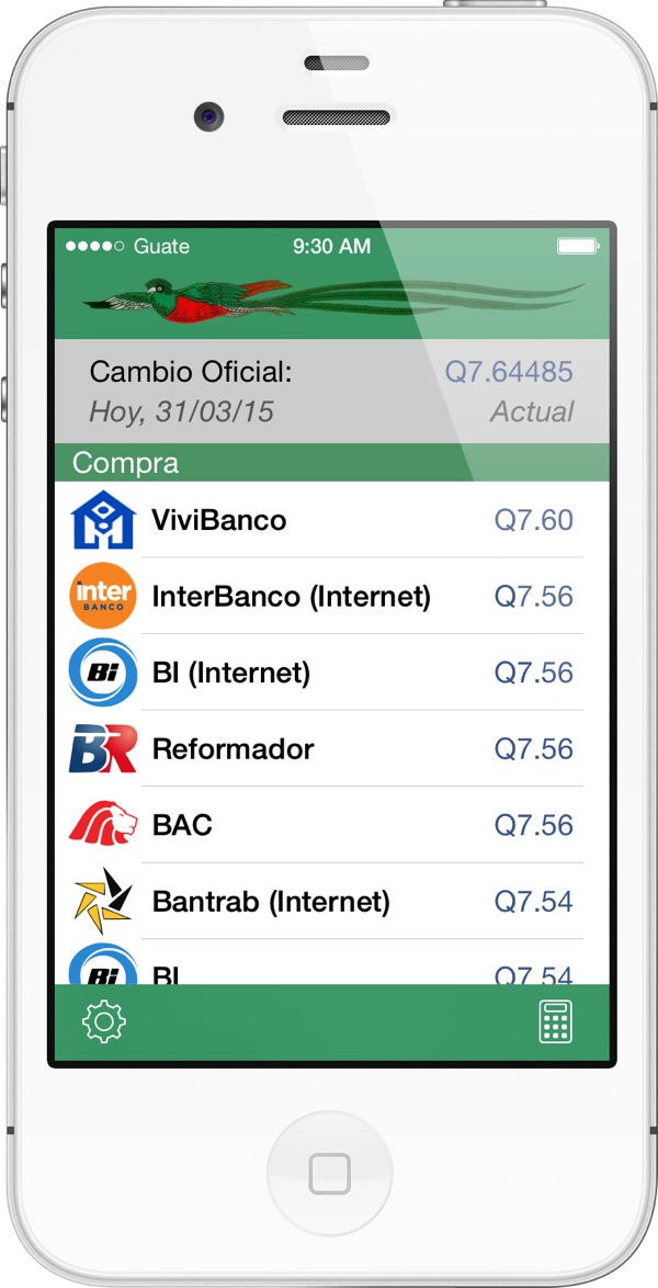 Banco Agromercantil Bam Bi Banrural Bantrab Reformador G T Continental Citibank Credito Hipotecario Nacional Chn